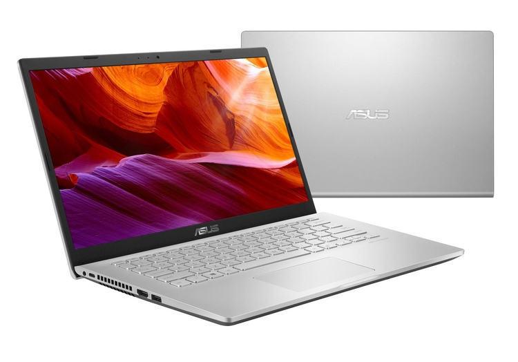 Laptop ASUS X409M: Procesador Intel Celeron N4020 2.8Ghz,Ram 4Gb, Disco duro 1TB, Display LED-backlit HD (1366x768) 60Hz, Web cam, No DVD-RW,Teclado en español,Windows 10 64 bits,color plata, Garantia 1 año